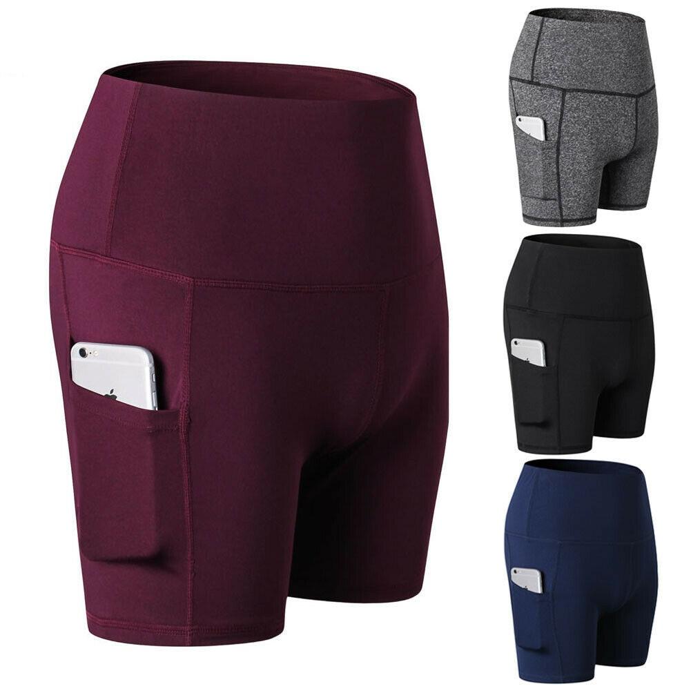 2020 Summer Sports Shortd Womens Super Soft Biker Shorts Elastic Stretch Gym Workout Knickers Pants Leggings Plus Size 2XL