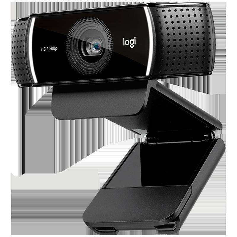 Logitech C922 Pro webcam live computer desktop video conferencing camera