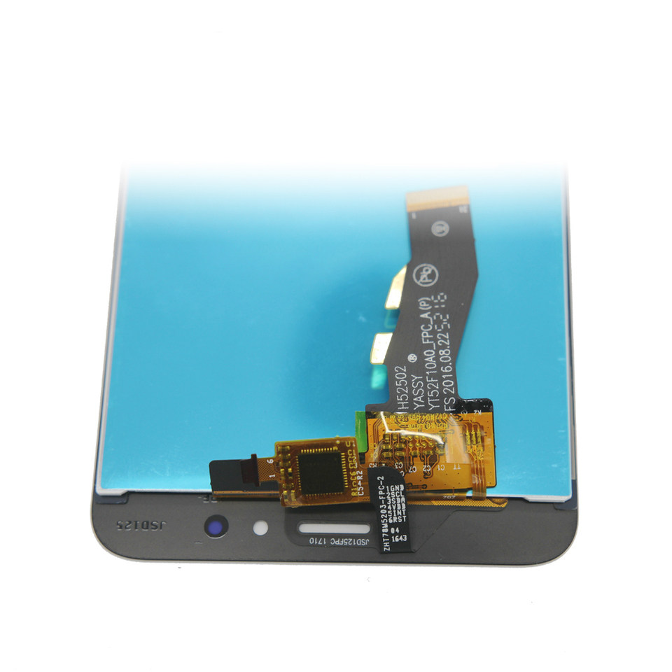 Touch Screen with Frame Replace The Old Cracked Broken Size : for m5s//meilan 5s Frame White Ctghgyiki Touch Screen Panel, IPartsBuy Meizu M5s // Meilan 5s LCD Screen Damaged One Replacement