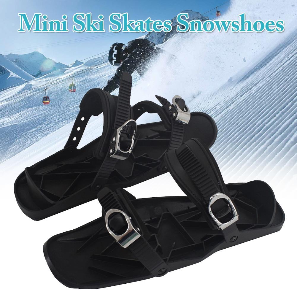 Mini Ice Climbing Shoes Anti-Skid Snowshoes Grips Crampons Cleats Shoes Outdoor Sports Skiing Accessories
