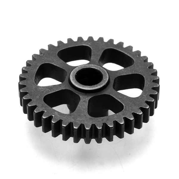 อัพเกรดโลหะเกียร์ + เกียร์มอเตอร์อะไหล่สำหรับ Wltoys A949 A959 A969 A979 K929 รีโมทคอนโทรลรถ RC ควบคุมของเล่นชิ้นส่วน