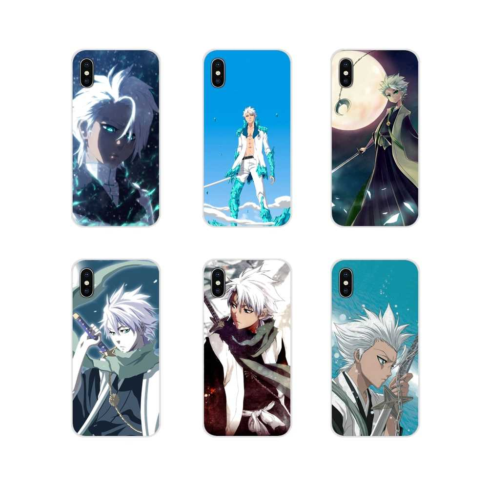 Transparante Tpu Cases Anime Bleach Hitsugaya Toushirou Voor Samsung Galaxy J1 J2 J3 J4 J5 J6 J7 J8 Plus 2018 prime 2015 2016 2017