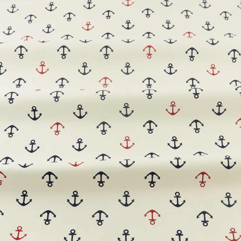 2 قطع مرساة سلسلة 40 سنتيمتر x 50 سنتيمتر القطن النسيج الخياطة الأقمشة ل خليط رخيصة Tecidos الفقرة Roupa اللحف الأنسجة Tecido تيدا