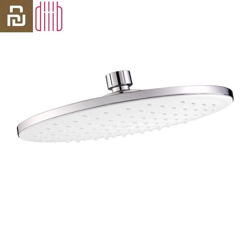 Youpin Diiib Dabai Shower Head 22x22cm 9-inch Roud ABS Plastic Rain Rainfall Bathroom Top Sprayer Thin High Pressure