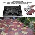 Бетонная форма в форме бабочки тротуар из камня Черный Прочный шаговый DIY Прочный Цемент плесень 44*30