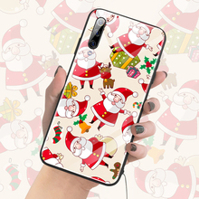 Christmas Deer Tree Glass Phone Case For Xiaomi Mi 9 8 T Lite SE F1 Redmi Note 4 5 6 7 8 Pro Cute Luxury Silicone Cover Coque цена в Москве и Питере