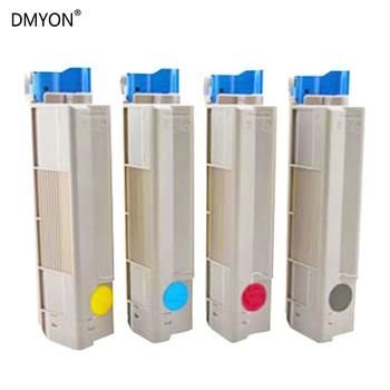 цена на DMYON Toner Cartridges Compatible for OKI C610 C610DN C610CDN C610DTN Printers Black Color Toner Cartridges