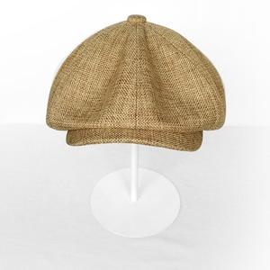 Image 5 - Casquette Four Seasons Cotton And Linen Black Mens Newsboy Hat Male Beret Men And Women Retro England Visor Big Head Cap BLM20