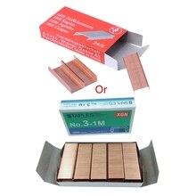 Metal Staples Binding-Supplies Office 1000pcs/Box 12mm Creative School 12--24/6 Brand-New