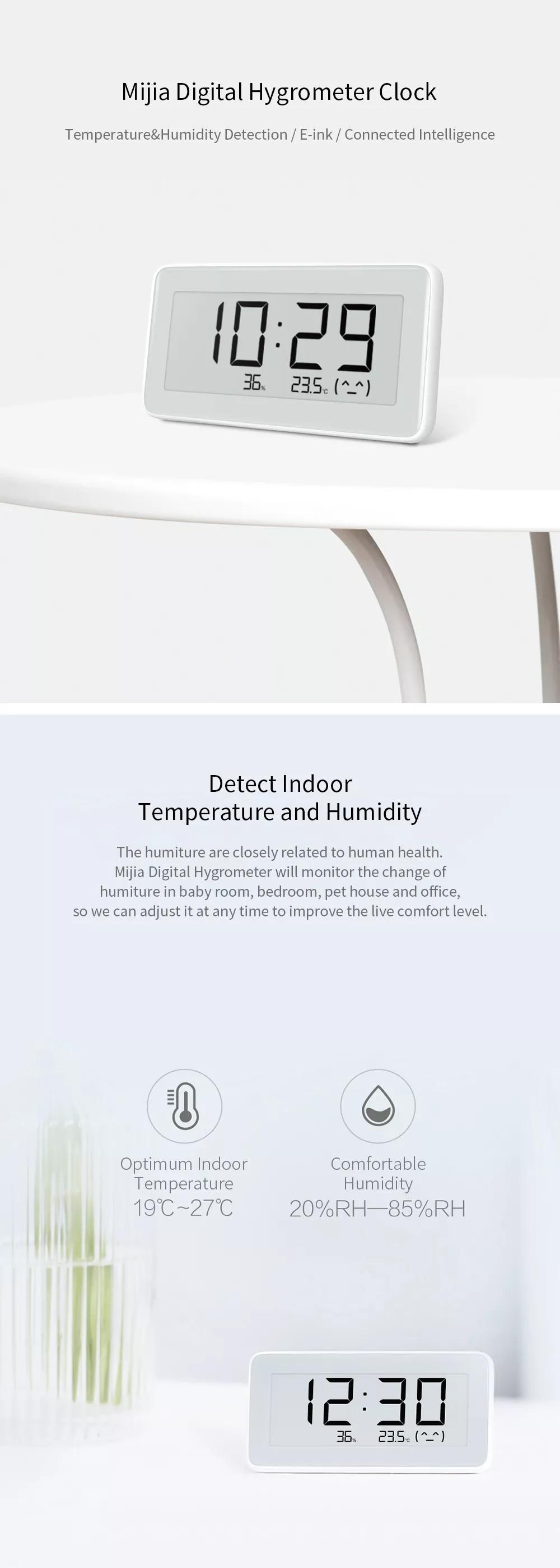 Xiaomi Mijia Hygrometer Thermometer Pro 6