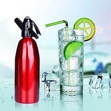 Soda Water Siphon Home Drink Juice Machine Bar Beer Soda Syphon Maker Steel Bottle Soda Stream Foam Cylinders туфли clarks 15 aquifer soda
