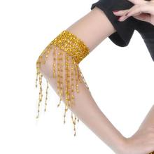 Female Beaded Hand Jewelry Fashion With Charming Belly Dance Wear Bead Bracelet(China)
