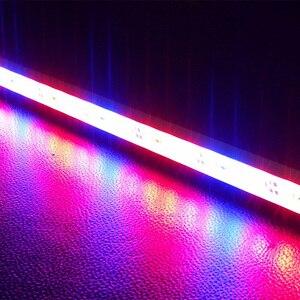 Image 4 - 5 قطعة DC12V 0.5 متر 5730 IP68 مقاوم للماء مصباح إضاءة Led للنمو بار جامدة قطاع الأحمر الأزرق 5:1 ل حوض السمك الأخضر البيت المائية النبات الأبيض