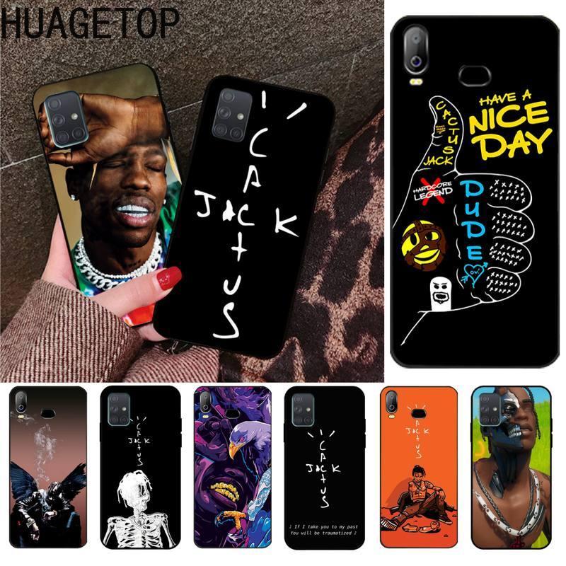 kaktus jack travis scott hiphop Phone Case For Samsung Galaxy A21S A01 A11 A31 A81 A10 A20E A30 A40 A50 A70 A80 A71 A51
