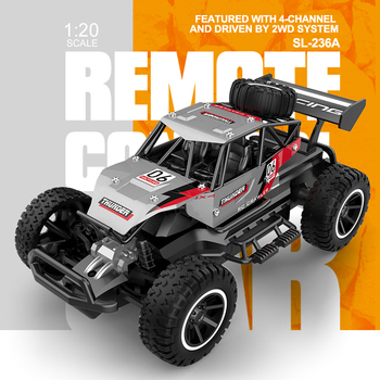 Infant Shining 2.4G Rc Cars Toy Off Road 4CH Radio Control Car 1/20 High Speed Race Car Toys for Children Electric Cars Toy Gift 1