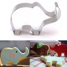 Moules de pâtisserie en forme d'éléphant, en forme d'éléphant, pour confiserie, emporte-biscuits, outils de décoration de gâteaux, moules de pâtisserie au chocolat à bonbons