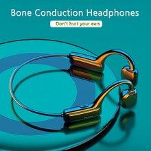 سماعة بلوتوث لاسلكية 5.1 ، سماعة رأس رياضية ، هاي فاي ، إلغاء الضوضاء ، توصيل العظام