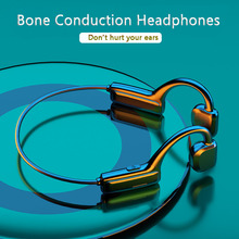 Bluetoothワイヤレスヘッドフォン骨伝導イヤホンはbluetooth 5.1スポーツハイファイステレオワイヤレスヘッドセットノイズキャンセル