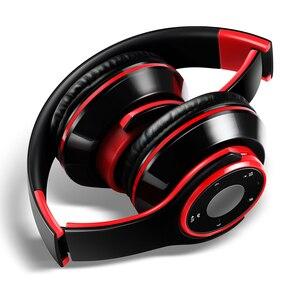 Image 3 - AYVVPII sg8 IOS kopfhörer mit mikrofon Bluetooth Headset drahtlose kopfhörer für kinder mädchen samsung OPPO sport und SD karte