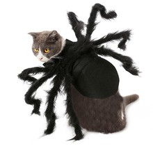 Halloween Pet Dogs Clothes Spider Cosplay Costume for Cat Dog Bat Role Play Dressing Up For Christmas