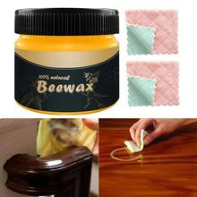 Polishing Beeswax Furniture-Care Natural Organic Pure-Wood Seasoning Complete-Solution