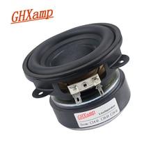 GHXAMP 3.5 calowy głośnik niskotonowy głośnik niskotonowy 88mm Super mocna gumowa krawędź 4 ohm 50W duża stal magnetyczna miedziana cewka drgająca