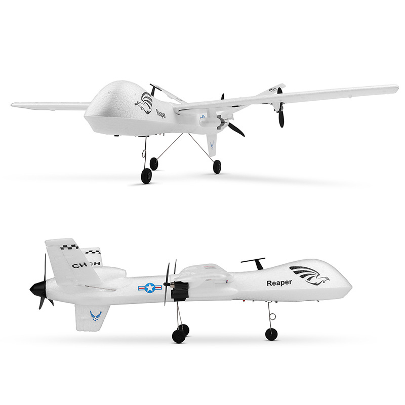 XK Weili A110 Three-Channel Fixed-Wing Remote Control Glider DIY Assembled Aerospace Model Toy Foam Airplane