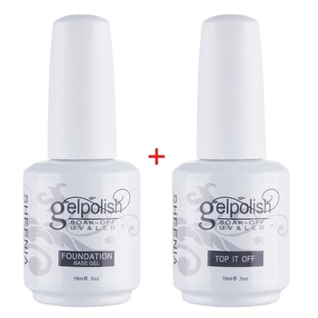 15ml Base/Top Coat Nail Gel Primer Matt Top Coat UV Gel Nail PolishLong Lasting Soak off Varnish UV Gel Polish Manicure Nail Art 86102 soak off primer gel gdcoco 8ml nail polish base coat top coat matte gel varnish ultra bond no acid primer hybrid basegel