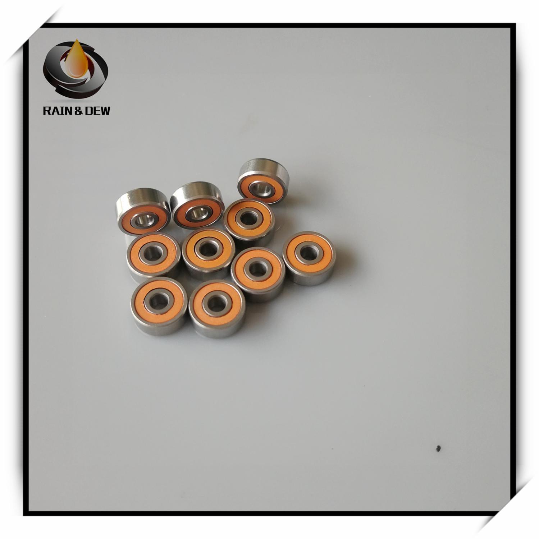1Pcs SMR103 2RS CB 3x10x4   Stainless Steel Hybrid Ceramic Lube Dry Fishing Reel Bearing SMR103C 2OS A7 LD SMR103-2RS