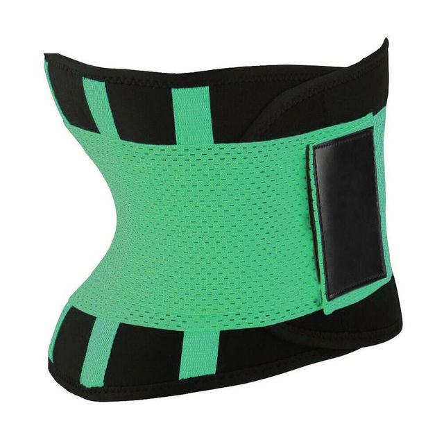 Womens Shaper Unisex Waist Cincher Trimmer Tummy Slimming Belt Body Shapers Latex Waist Trainer Woman Postpartum Corset Shaper 4