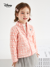 Disney Baby Boy and Girls Fleece Jacket New Autumn Zipper Childrens Top 2019 Kids Coat