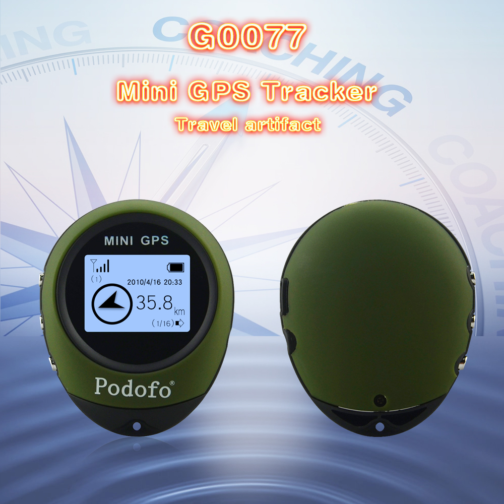 G0077 MINI GPS Personal Tracker Portable GPS Locator Real-time Longitude/Latitude Coordinates Travel Distance/Satellite Time