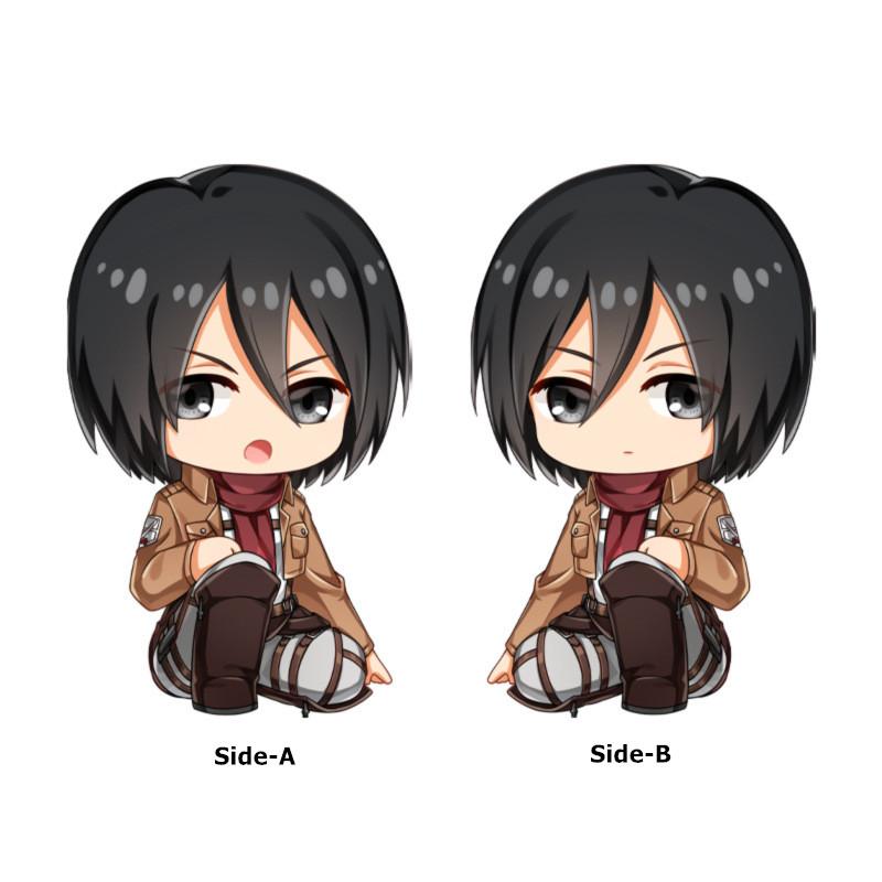Attack on Titan - Levi & Mikasa Ackerman Soft and Comfortable Plush Doll