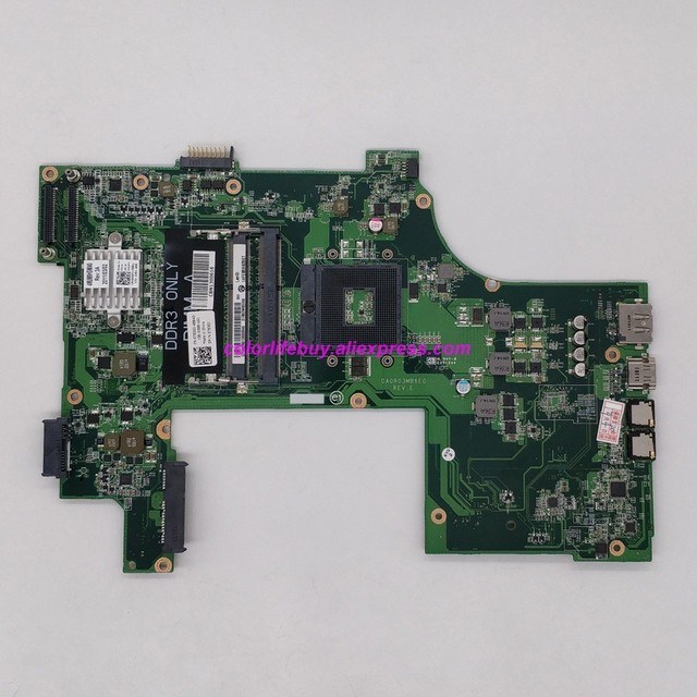 Genuine CN 07830J 07830J 7830J DA0R0EMB6E1 DA0R03MB6E0 REV:E Laptop Motherboard Mainboard for Dell Inspiron N7110 Notebook PC