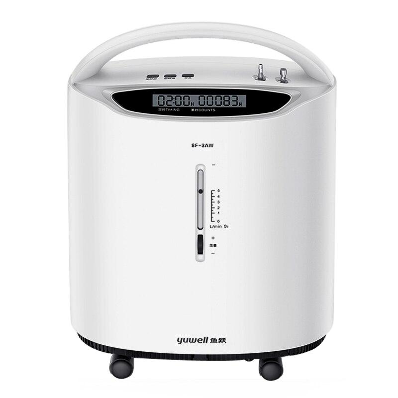 Home Oxygen generator 8F-3AW atomization oxygen machine 0-5L stepless adjust suit for elderly/pregnant/adult oxygen maker 220v