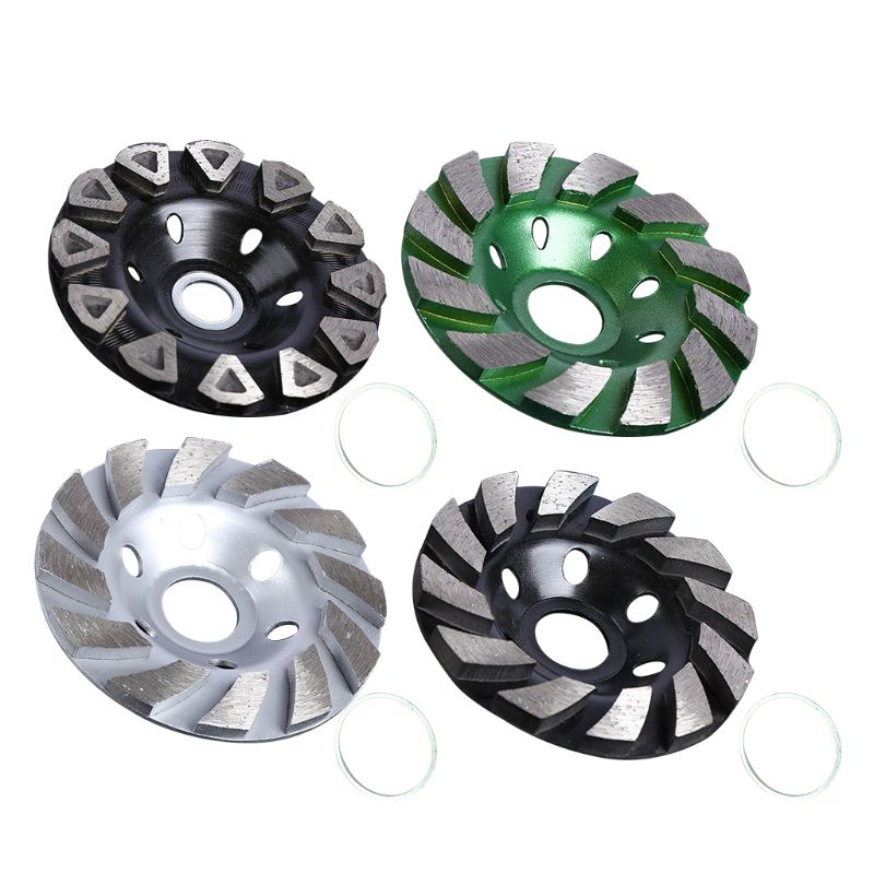 100mm Diamond Grinding Sheet Wheel Concrete Cup Disc Druable Masonry Stone Tool Dropship