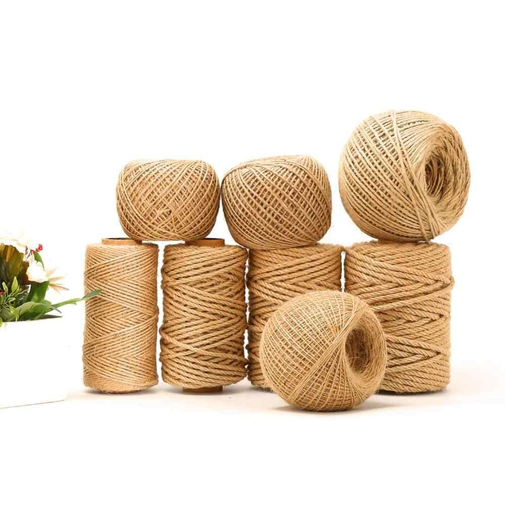 pasamanos mascotas 60 mm cuerda decorativa para jard/ín cuerda de sisal Roban Fashion/® cuerda multiusos Cuerda de yute 100/% natural 6 mm barcos cuerda de c/á/ñamo natural