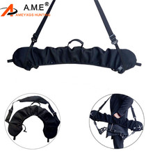 Archery Bow Sling Carrier Black Quick-Fit For Compound Adjustable to Fit bows 24 40 Axle axle Hunting