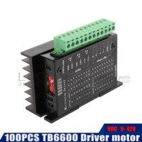 100PCS TB6600 stepper motor driver DC 9V 42V CNC Single axis controller module files