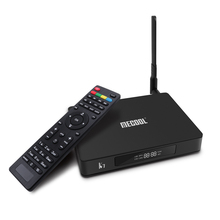 Mecool K7 TV Box Android 9.0 OTT & DVB T2 S2 Amlogic S905X2 4GB RAM 64GB 4K Media Player Set Top Box with IPTV France Dutch цена