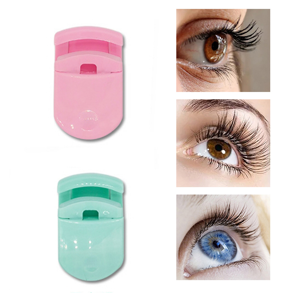 Professional Mini Eyelash Curler Portable Eye Lashes Curling Clip Cosmetic Makeup Tools Accessories 5 Colors
