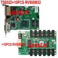 TS802D + 10 шт. RV908M32 поддержка P1 P1.2 P1.6 P1.8 P2 P2.5 P3 P3.91 P4 P4.81 P5 P6 P7.62 P8 P10 Светодиодный дисплей Лидер продаж