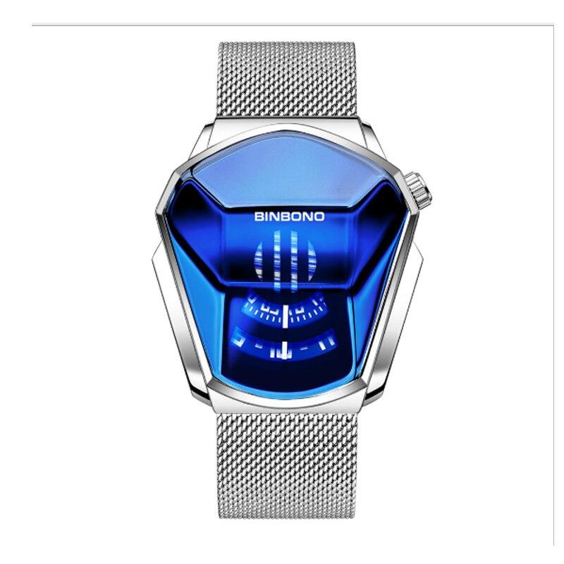 Купить часы наручные мужские кварцевые с большим циферблатом