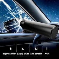 2 in 1 Auto Notfall Sicherheit Flucht Hammer Glas Fenster Breaker Sitz Gürtel Cutter Leben-Saving Flucht Auto Notfall werkzeug