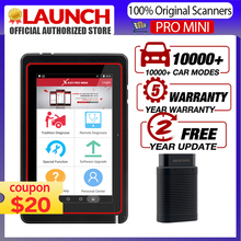 Launch X431 PRO أداة تشخيصية صغيرة للسيارة لتشفير وحدة التحكم الإلكترونية وأنظمة كاملة X431 إطلاق الايجابيات جهاز مسح الرمز التلقائي المصغر PK x431 فولت plus