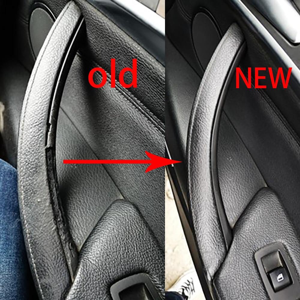 High-quality Car Inner Door Panel Handle Pull Trim Cover For BMW E70 X5 E71 E72 X6 SAV Car Accessories