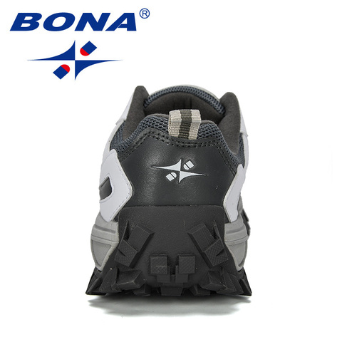 BONA 2019 New Designer Outdoor Men Cow Split Hiking Shoes Men Sport Shoes Trainers Shoes For Men Training Jogging Sneakers Shoes Karachi