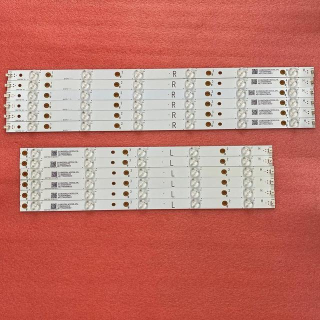 LED Backlight strip(12) For Sharp LC 50LB371C 50LB481U 50PUT6400 50PFT4509 50PFH4009 500TT64 500TT63 LB50045 V0 V1 00 50PFH5300