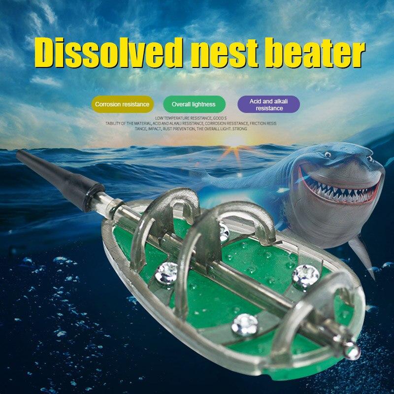 3pcs/Set Inline Method Carp Fishing Feeders 30/40/50g Mould Set ALS88