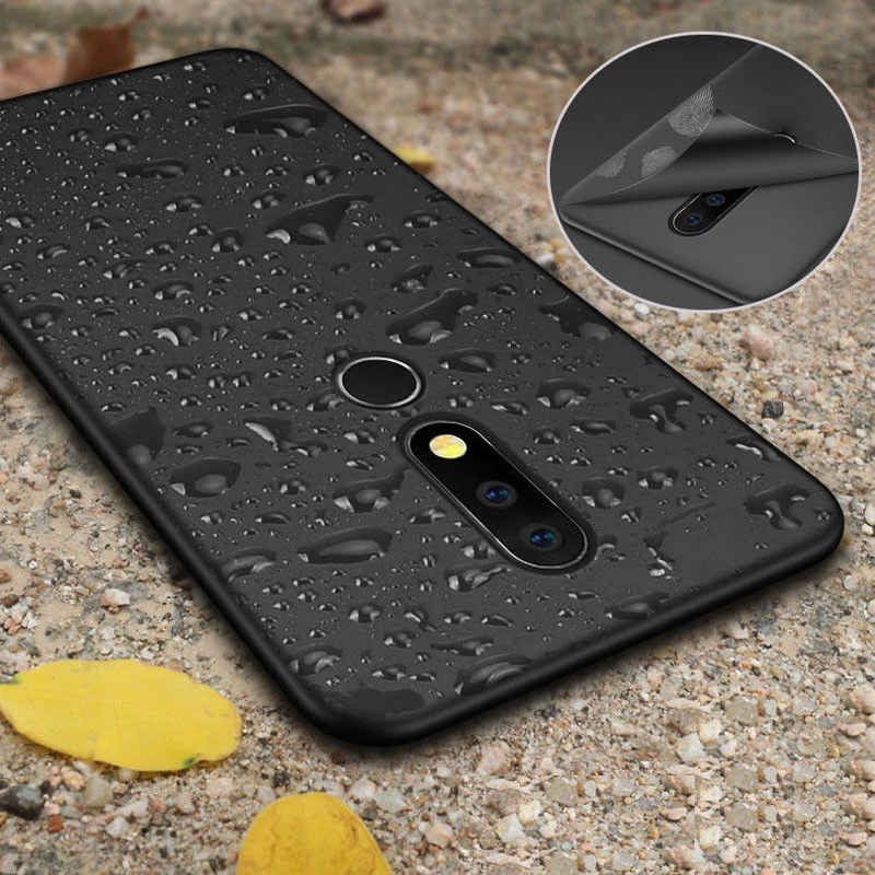 Ultra Thin Matte Phone Cases For <font><b>Nokia</b></font> 5 8 9 7 6 2018 Luxury Full Protective Soft Silicon Back Cover For <font><b>Nokia</b></font> 7.1 5.1 <font><b>6.1</b></font> Plus image